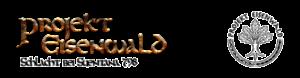 """Logo der Veranstaltung """"Projekt Eisenwald"""" im Erlebniswald Trappenkamp"""